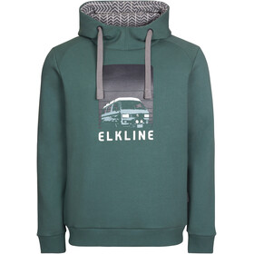 Elkline Vantastic Sweat Hoodie Men, trekking green